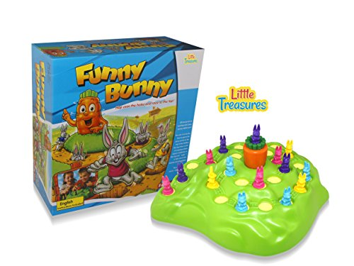 Rabbit Game Hop Over The Holes And Race To The Top To Win, Instructions Included Great Fun Family Entertainment Game Amazing Present For Boys And Girls.