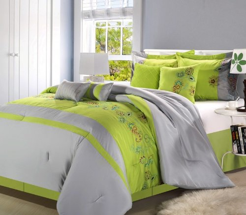 Neon Green Bedding