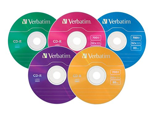 verbatim-700mb-52x-80-minute-color-branded-recordable-disc-cd-r-25-disc-slim-case-94611
