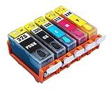 Canon キヤノン 5色セット BCI-326+325/5MP 詰め替えインクカートリッジ 永久チップ付き 純正互換-559333