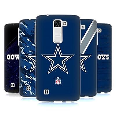Official NFL Dallas Cowboys Logo Soft Gel Case for LG K7 / Tribute 5