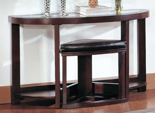 Cheap Sofa/Console Table with Chair of Brussel Collection by Homelegance (3219-05)