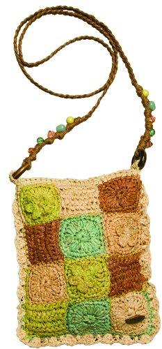 cappelli-straworld-raphia-patchwork-cross-body-sacs-vert-citron