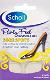 Scholl Party Feet(TM) Invisible Gel Sore Spots 6 Spots (ideal for all shoes)