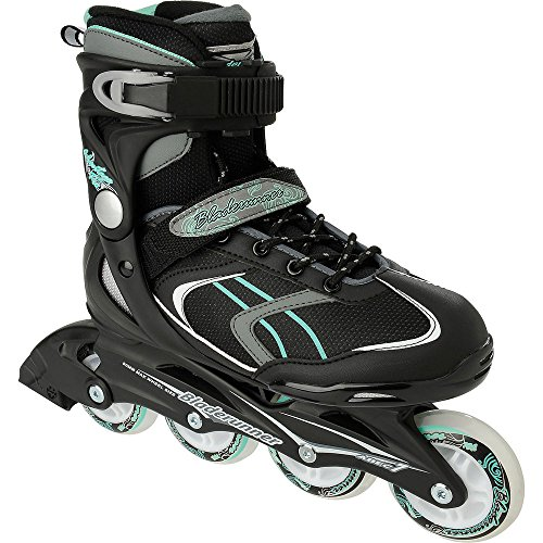 Bladerunner Advantage Pro XT Womens Inline Skates 2017 - 6.0/Black-Light Blue (Bladerunner Advantage Pro compare prices)