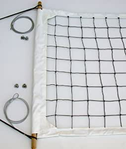 Volleyball Net, Aircraft Cable Top and Bottom - USL