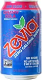 Zevia All Natural Soda, Cherry Cola, 12-Ounce Cans (Pack of 24)