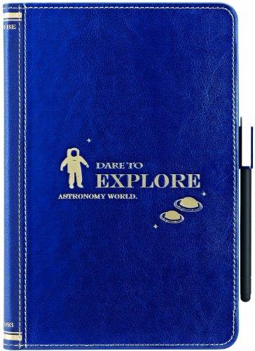 OZAKI O coat Wisdom Astronomy Book iPad mini Navy