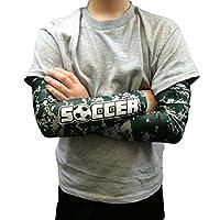 1 Soccer/1 blank Arm Sleeve Digital Camo Compression