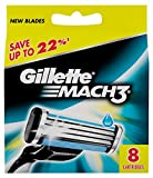 Gillette Mach3 Blades - 8 Cartridges