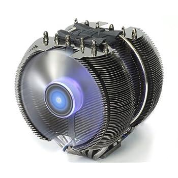 ZALMAN LGA2011ソケット対応 ヒートパイプ6本 12cmファン3基搭載 高性能CPUクーラー CNPS12X