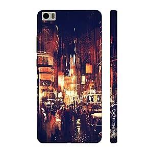 Enthopia Designer Hardshell Case Vintage Street Back Cover for Xiaomi Mi5
