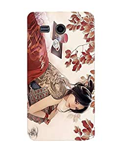 Newtronics Fashion Designer Bumper Slim Utra-thin Hard Back Cover Case For Huawei Ascend Y511