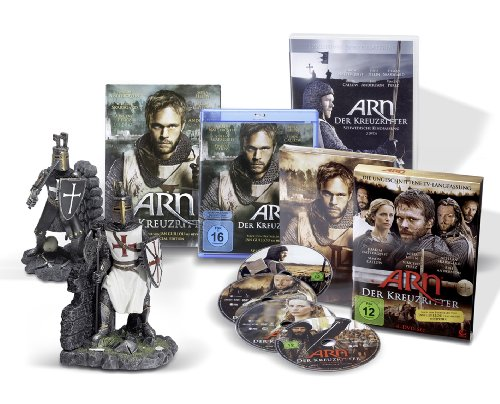 ARN - Der Kreuzritter - Limited Collector's Edition (exklusiv bei Amazon.de) [9 DVDs]