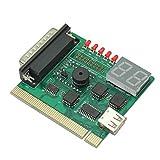 PCIマザーボード 診断カード  miniPCI&パラレルポート テスト機能付 2桁表示モデル