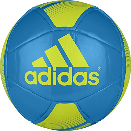 adidas Performance EPP Glider Soccer Ball, Solar Blue/Semi Solar Yellow, Size 5 (Pitch Back Football compare prices)