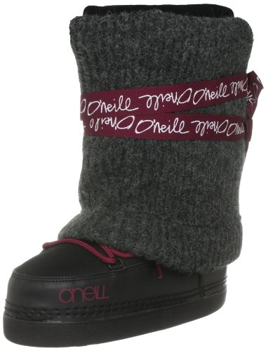 O'Neill Women's Meribel Black Out Snow Boot 159704 7.5 UK