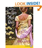 The Lady Most Likely...: A Novel in Three Parts [ THE LADY MOST LIKELY...: A NOVEL IN THREE PARTS ] by Quinn, Julia (Author) Dec-28-2010 [ Paperback ]