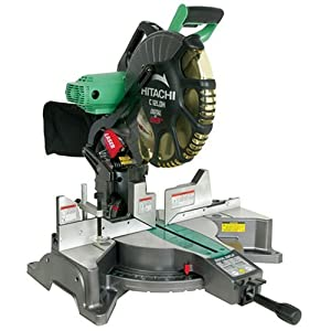 Hitachi Factory-Reconditioned: Hitachi C12LDH 15 Amp 12-Inch Dual-Bevel Miter Saw with Laser and Digital Miter Bevel Display at Sears.com