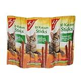 GUT & GÜNSTIG GUT & GÜNSTIG 10 Katzen Sticks Kaninchen und Geflügel - 1 x 10 Stück