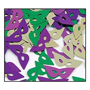 Click to buy Mardi Gras Fanci-Fetti Masksfrom Amazon!