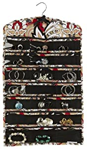Macbeth collection Jewelry organizer zippered 42 pockets