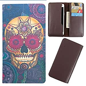 DooDa - For Videocon Infinium Z30 Dart PU Leather Designer Fashionable Fancy Case Cover Pouch With Card & Cash Slots & Smooth Inner Velvet