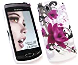 FLASH SUPERSTORE SAMSUNG S8530 WAVE II GEL SKIN COVER PURPLE BLOOM
