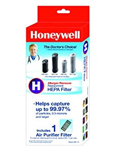 Honeywell True HEPA Air Purifier Replacement Filter, HRF-H1/Filter (H)