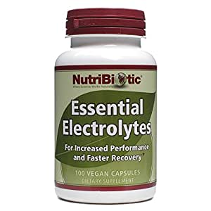 Nutribiotic Essential Electrolytes, 100 Caps, 100 Count