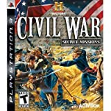 History Channel Civil War: Secret Missions - Playstation 3