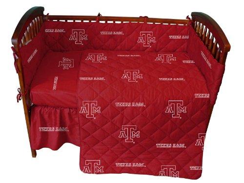 Ncaa Texas A And M 5 Piece Crib Bedding Set front-1039174