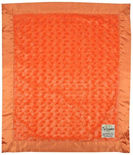 "My Blankee Luxe Snail Baby Blanket, 14"" x 17"", Orange"
