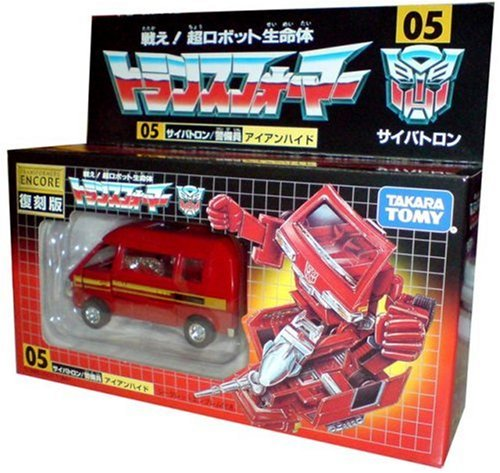 Transformers Encore Ironhide Japanese Reissue
