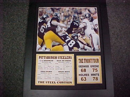 11x14 Framed & Matted Pittsburgh Steelers Steel Curtain 8X10 PHOTO (Steelers Pics compare prices)