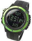 [ラドウェザー]腕時計 ドイツ製センサー 高度計/気圧計/温度計/天気予測 アウトドアウォッチ メンズ/レディース