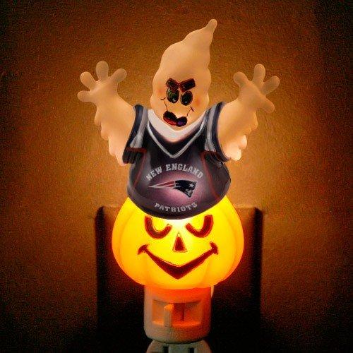 New England Patriots Halloween Ghost Nightlight