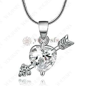 Est Jewelry The Arrow Of Love Jewelry 18K White Gold