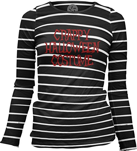 Big Texas Crappy Halloween Costume (Red) Women's Sheer Long-Sleeve Top