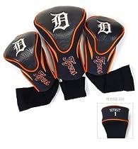 MLB Detroit Tigers Contour Head Cover (Pack of 3), Orange