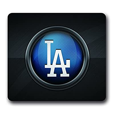 Los Angeles Dodgers Non-Slip Water Resistant Mouse Pad, 10 Inch *9 Inch Rubber