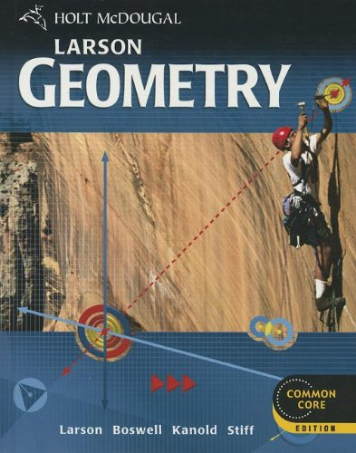 Holt McDougal Larson Geometry: Student Edition 2012 PDF