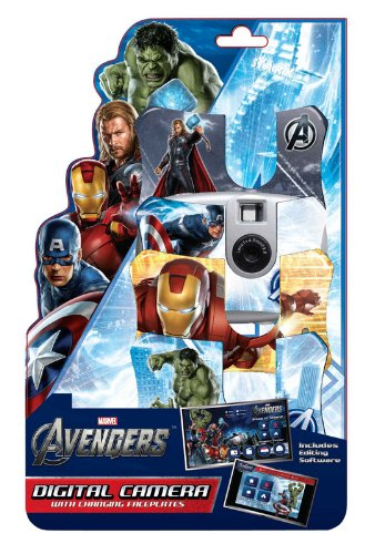 Avengers Digital Camera with 3 Face Plates