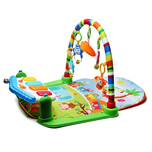 4-in-1-Babys-Kick-and-Play-Piano-Gym-Musical-Activity-Playmat-with-Rattles-Toys-by-Beby