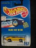 #267 Olds 442 W-30 7-spoke Chrome Base Collectible Collector Car Mattel Hot Wheels