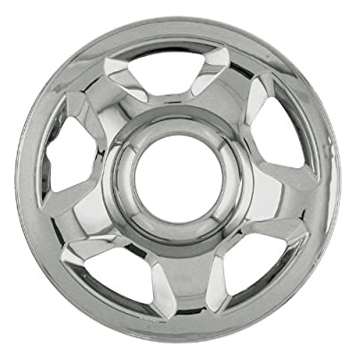 "Bully Imposter IMP-53X, Ford, 17"" Chrome Replica Wheel Cover, (Set of 4)"