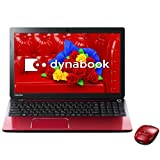 東芝 ノートパソコン dynabook T554/45LR(Microsoft Office Home and Business 2013搭載) PT55445LSXR