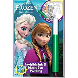 [Best price] Arts & Crafts - Disneys Frozen Invisible Ink Coloring Book - toys-games