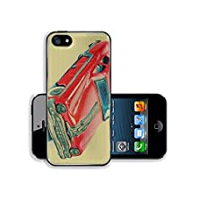 buy Msd Apple Iphone 5 Iphone 5S Aluminum Plate Bumper Snap Case Fifties Vintage Red American Car Toy Isolated On A White Background Image 20951693