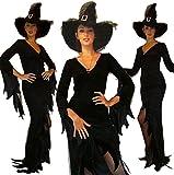 Maylynn 10964 - Disfraz de halloween, traje de maga Nimue, bruja gótica, disfraz de bruja